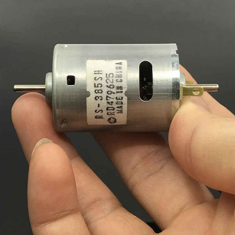 5x Mini 030 Motor Dc 6V 12V 13500RPM 13mm Doppel Schaft Axis Spielzeug Modell S