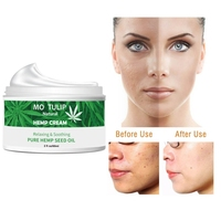60g Hemp Seed Oil Cream Moisturizing Face Skin Care Smooth Fine Lines Firming SkinTreatment Anti acne Anti aging Face Cream*