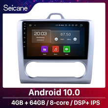 """Seicane 10.1 """"Android 10.0 GPS araba radyo 2004 2005 2006 2007 2011 Ford odak 2 dört çekirdek/sekiz çekirdekli Wifi multimedya oynatıcı"""