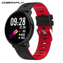 Cobrafly K1 Full HD 3D UI Touch Screen Smart Watch IP68 Waterproof Heart Rate Monitor Fitness Tracker Smartwatch For Android IOS