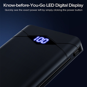 Image 3 - بنك الطاقة INIU 10000mAh LED العرض المزدوج 3A USB المحمولة شاحن Powerbank بطارية خارجية حزمة Poverbank آيفون 8 شاومي