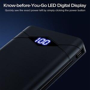 Image 3 - INIU Power Bank 10000mAh LED Display Dual 3A USB Portable Charger Powerbank External Battery Pack Poverbank For iPhone 8 Xiaomi