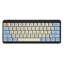 Azul bege laranja tintura sub 64 68 grosso teclado, pbt, teclado, oem, teclas para teclado mecânico yd60m xd64 gk64 tada68