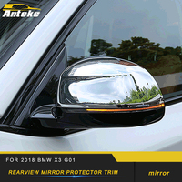 Rearview Mirror Cover Protector Trim Frame Sticker Exterior Accessories For 2018 BMW X3 G01 X4 G02 Car Styling Side