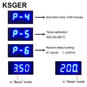 Image 4 - KSGER T12 הלחמה תחנת STM32 דיגיטלי בקר ABS מקרה 907 הלחמה ברזל ידית אוטומטי שינה Boost מצב חימום T12 טיפ