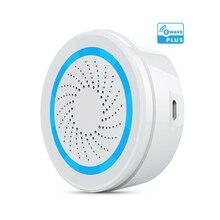 Version ue sirène dalarme Zwave alimentée par batterie peut également être chargée avec un capteur dalarme sirène USB pour la domotique Z Wave