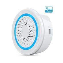 Zwave sirena de alarma alimentada por batería, Sensor de alarma de sirena USB para domótica Z Wave, versión EU