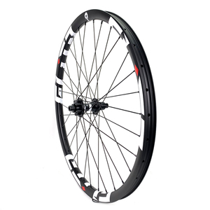 Image 2 - 29er 33mm width 29mm height hookless mtb carbon wheelset 29 inch Carbon Mountain Bike wheels with MTB DT350 hub