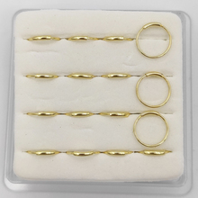 16 pcs/pack 925 Sterling Silver Nose Ring  piercing nariz fashion body jewelry