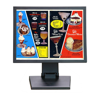 12 inch POS Monitor TFT LCD Computer Monitor With glass