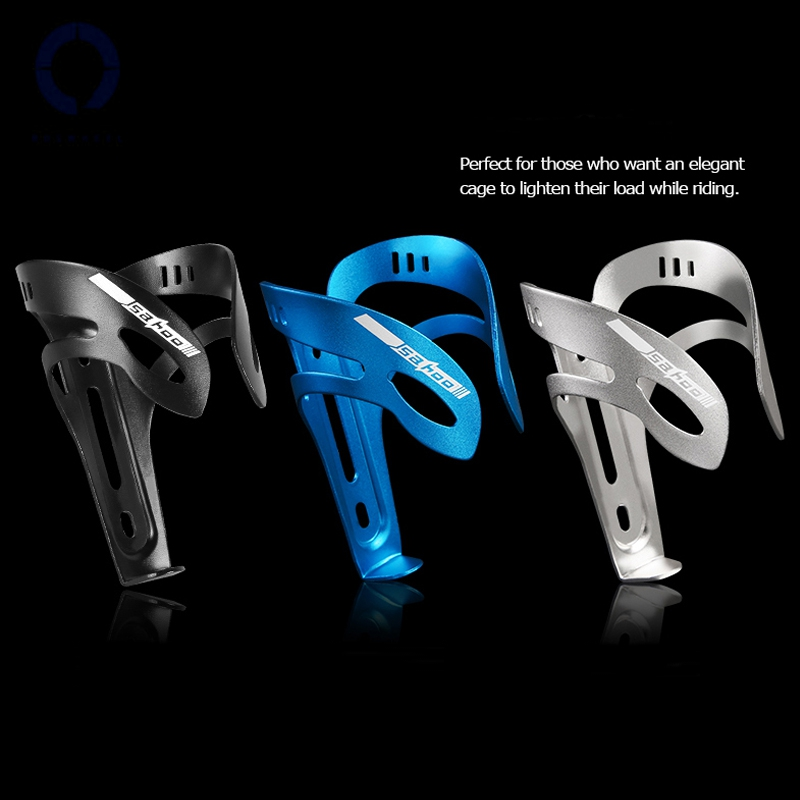 Roswheel Aluminium Alloy Bottle Cage Road Cycling Mountain Bike Accessories Drink Water Bottle Cage Bike Water Bottle Holder