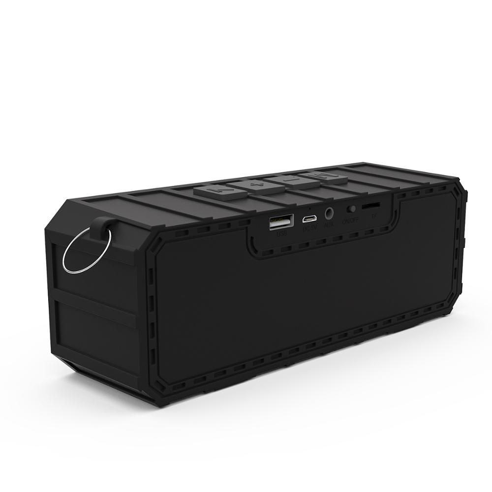 Portable wireless bluetooth speaker HIFI stereo mini outdoor audio subwoofer mobile phone card riding MP3 playeSupport TF FM