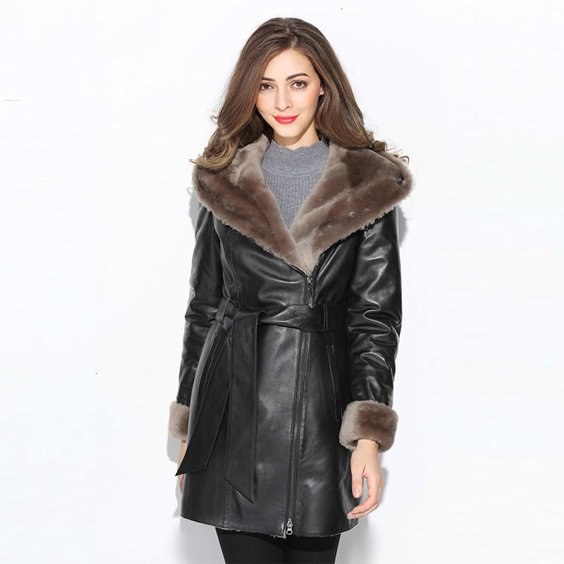 Real Fur Coat Women Sheep Shearing Winter Coat Women Natural Wool Jacket For Woomen Clothes 2020 Manteau Femme M1080 YY935