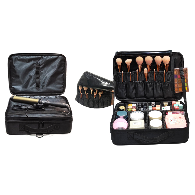New Upgrade Large Capacity Cosmetic Bag Hot-selling Professinal Women Travel Makeup Case