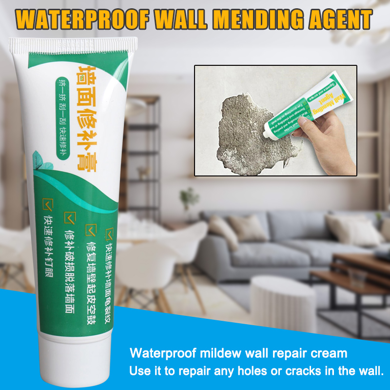 Economical 1/2/3pcs Wall Mending Agent Repair Cream Crack Repairing Quick Drying For Home Kitchen Ds99