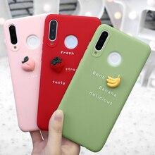 3D Cute Fruit Print Case For Huawei P20 Lite P30 P8 P9 P10 M