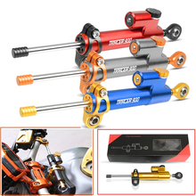 Moto CNC Motorcycle Steering Damper Stabilizer Linear Reversed Safety Control Over For YAMAHA Tracer 900/GT Tracer900 GT 2018