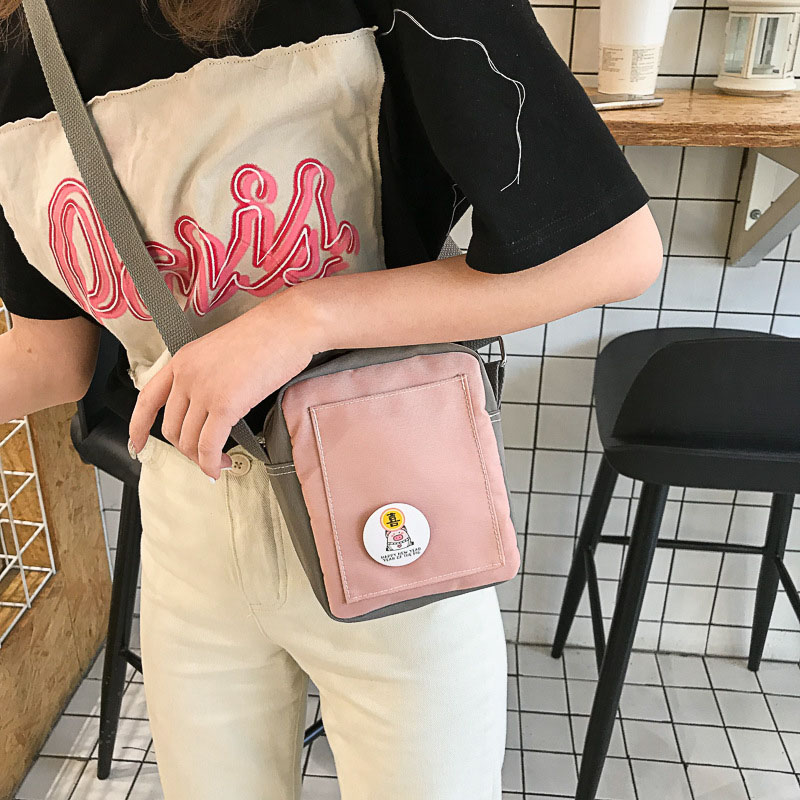 New Small Shoulder Bag Female Patchwork Large Capacity Leisure Messenger for Teenage Girls Fashion Women Flap Bags