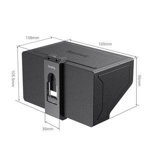 Image 4 - SmallRig смартфон Солнцезащитная бленда (маленький) Мобильный телефон Защита от солнца капот камера монитор экран ЖК капот для видео Поддержка Rig   2689