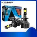 NOVSIGHT H7 светодиодный лампы H4 автомобильный светильник H11 светодиодный головной светильник H1 Turbo лампы 9005 9006 HB3 HB4 авто светильник s H3 H13 9007 HB5 6000K...