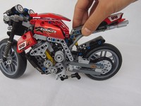 Speed Motorcycle Exploiture Model Toy Building Blocks Decool 3353 Compatible With Gift Boy Racing 431pcs Set Technology