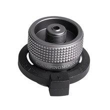 Головка газового картриджа конверсия наконечник-переходник Тип бутылки Lindal клапан выход винтового типа входной бутановый адаптер