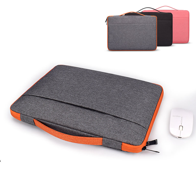 Zipper Sleeve Soft <font><b>Laptop</b></font> Bag for Xiaomi Dell Lenovo Toshiba HP <font><b>ASUS</b></font> Acer Macbook 11 12 13 14 15 <font><b>15.6</b></font> inch Carry Notebook <font><b>Case</b></font> image