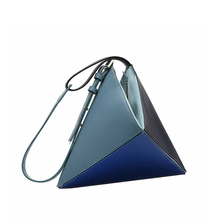 Fashion Female Shoulder Bag Personality Lady Clutch Temperament Stitching Youth Woman Geometry