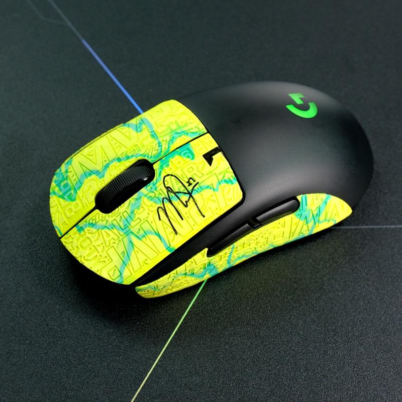 Kashcy Lizard Skins Mouse Skates Sticker For Esport Gamer Handmade DYI Customized Size Non Slip Sweat Ultra-thin Anti-Slip-5