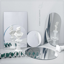 Ins Photo Props Acrylic Mirror Reflection Board Reflector Photography Props Shooting Background Ornaments Posing Props