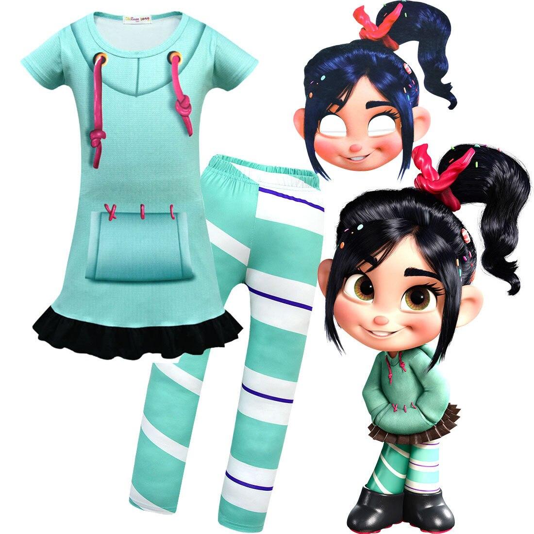 girls-wreck-it-ralph-2-clothes-vanellope-von-schweetz-font-b-vocaloid-b-font-cosplay-halloween-costume-kids-dress-pants-sets-clothing-for-girl