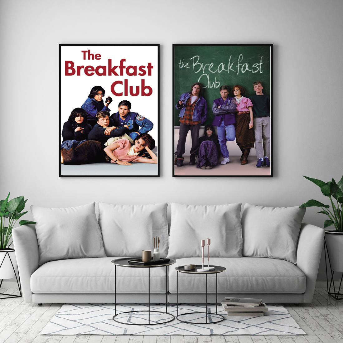 THE BREAKFAST CLUB Movie Art Silk Canvas Poster Print 12x18 24x36 inch