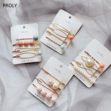 Proly 4/шт/набор новые женские модные заколки для волос девушки
