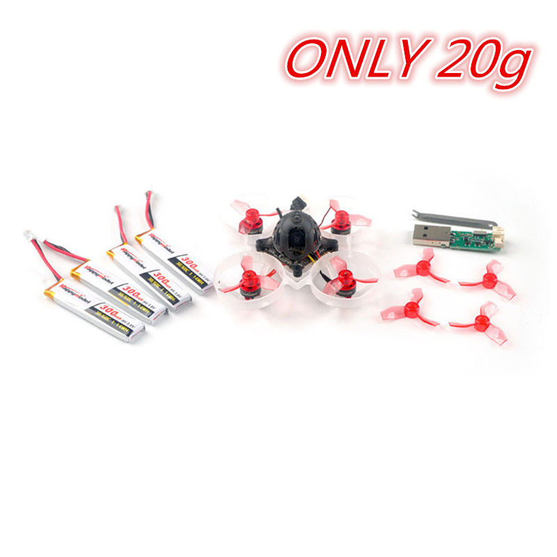 Hot Only 20g Happymodel Mobula6 65mm Crazybee F4 Lite 1S Whoop FPV Racing Drone RC Quadcopter Multicopter BNF w/ Runcam 3 Cam