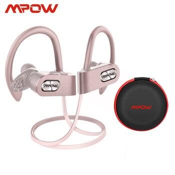 Mpow chama 2 ipx7 à prova dwireless água esportes sem fio fone de ouvido bluetooth 5.0 13h tempo de jogo hd estéreo para iphone samsung huawei xiaomi