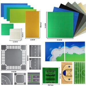 Plates Building-Blocks Basketball-Board Street-Base Road DIY 32--32-Dots
