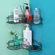 Hook Storage-Rack-Holder Seasoning-Rack Corner-Frame Shower-Shelf Bathroom-Accessories