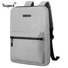 Mochila unissex para laptop, bolsa de 15.6 para macbook pro 15, notebook slim, para laptop macbook air 13, mochila escolar para adolescentes saco 14 Polegada