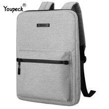 กระเป๋าแล็ปท็อป Unisex 15.6 สำหรับ MacBook Pro 15 กระเป๋าเป้สะพายหลังแล็ปท็อปสำหรับ MacBook Air 13 โรงเรียนสำหรับวัยรุ่นแล็ปท็อปกระเป๋า 14 นิ้ว