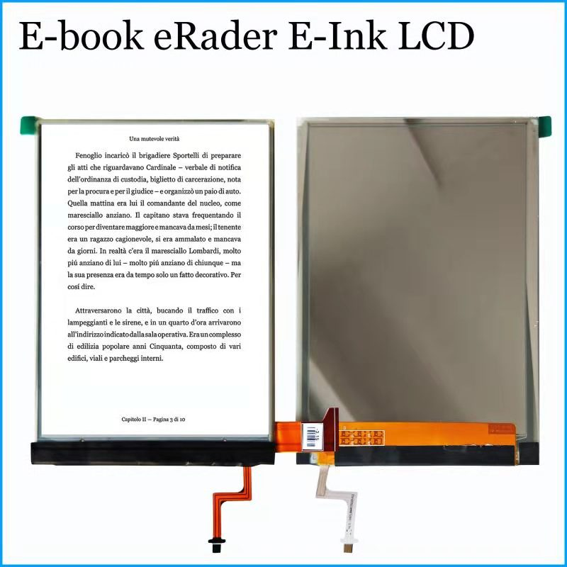 6 Inch LCD With Backlight Screen Display Matrix Compatible For Ritmix RBK-675FL Reader Ebook EReader For Tesla Litera FL 6.0