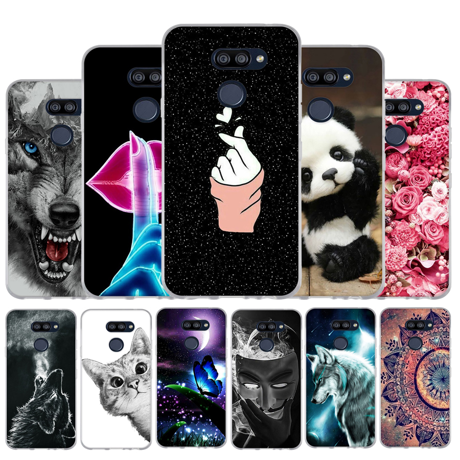 Funda For LG K40S K50s Case Silicone Soft TPU Capa For LG K50S Phone Case Cute Flowers Back Cover For LG K40S K 50S Bumper Shell