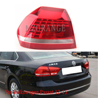 MZORANGE Tail Brake Light Rear Rear bumper light brake lamp driving light for Passat B7 2012 2013 2014 2015