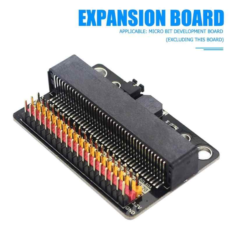 IOBIT adaptateur Horizontal Microbit GPIO Module d'apprentissage du programme de carte d'extension 3Pin IO ports mène sans aucune réservation
