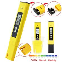 LCD Digital PH Meter EC Tester Pen Water Purity PPM Filter Hydroponic Portable for Aquarium Pool Wine Urine Accuracy 0.1 Monitor