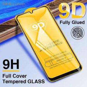 50 шт. 9D изогнутое полное покрытие закаленное стекло для Samsung A10 A20 A30 A40 A50 A50S A60 A60S A70 A80 A90 Защитная пленка для экрана