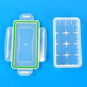 Image 5 - 1PC פלסטיק סוללה מקרה מחזיק תיבת אחסון עבור 2*18650 CR123A 4*16340 סוללה מיכל תיק מקרה ארגונית תיבת מקרה