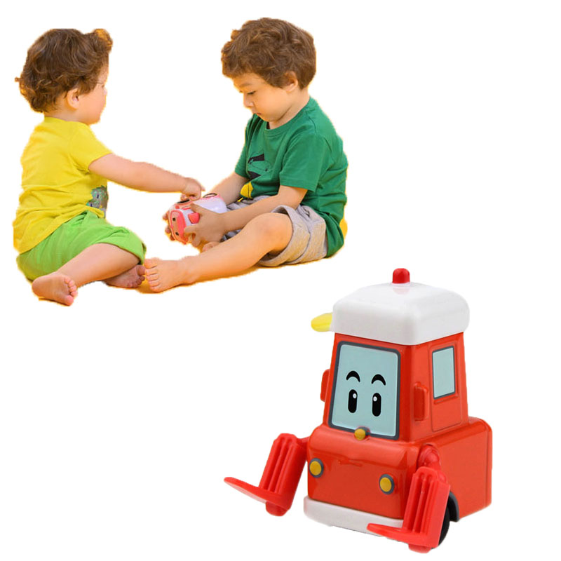 Robocar Poli Korea Car Toys Poli Metal Model Toy Rui Bodhi Forklift  Action Figure Toys Baby Toys Boys Toys Christmas Gifts