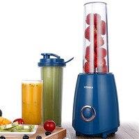 2pcs Mixer Cup Portable Blender Electric Fruit Juicer EU Plug Fruit Juice Processor Extractor Blender Smoothie Maker KJ JF302|Manual Juicers|Home & Garden -