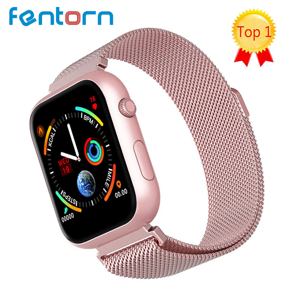 2019 Hot Sale Smart Watch Heart Rate Tekanan Darah Monitor Smart Watch Wanita Smartwatch Pria 4 untuk Apple IOS Android telepon