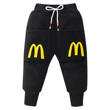 Warm Pants QUILTED Thick-Trousers Girls Winter Cotton Children's Velvet Kid And 1-7T